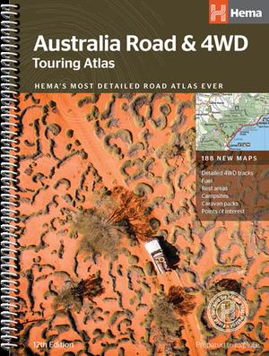 Australië Road & 4WD touring atlas A4