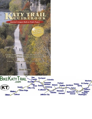 Katy Trail Guidebook Brett Dufur