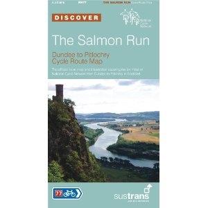 Ncn077 Salmon Run Cycle Map Sustrans