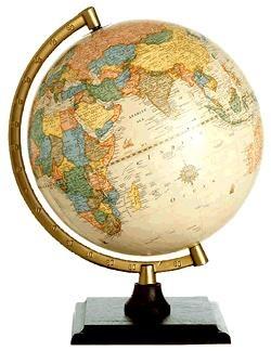 Bradley Junior Globe 23cm wereldbol