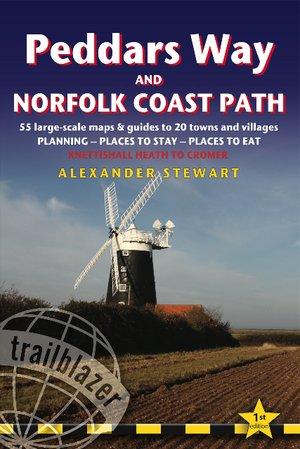 Peddars Way And Norfolk Coast Path: Trailblazer British Walking Guide