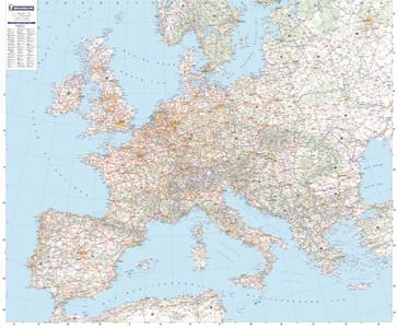 Michelin 705 Europa Plano Gelamineerd 1:3m