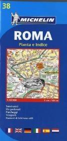 Rome - Michelin City Plan