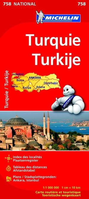 Turkije Michelin National 758