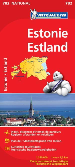 Estonia Michelin 782 Estland