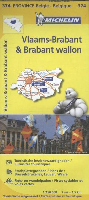 Vlaams-brabant Brabant Wallon 1:150d