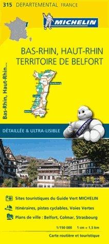 Bas-Rhin / Haut-Rhin / Territoire de Belfort