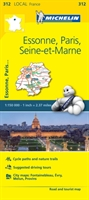 Essonne, Paris, Seine-et-marne - Michelin Local Map 312