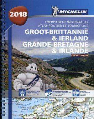 Groot-brittannie & Ireland Michelin 2018 Wegenatlas