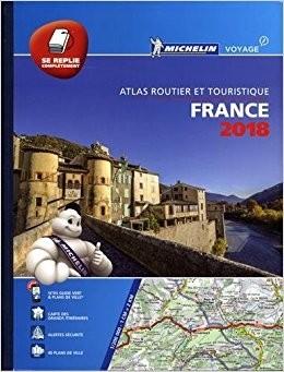 Michelin France Atlas Routier 1:200d 2018