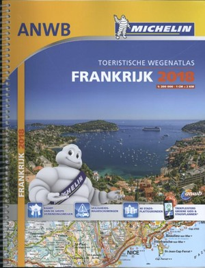 Michelin Frankrijk France Atlas 1:200d 2018