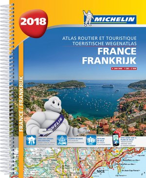 France Atlas Routier Michelin 1:200d 2018