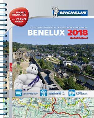 Michelin Benelux 1:150.000 Wegenatlas 2018