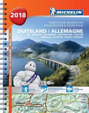Michelin Duitsland Oostenrijk Atlas 2018