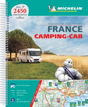 Atlas Michelin Frankrijk Camping Car 2018