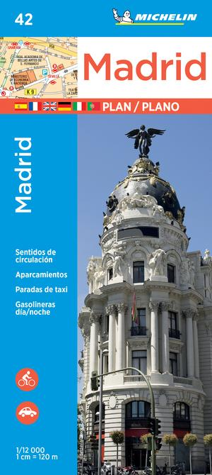 Michelin Madrid Map 42