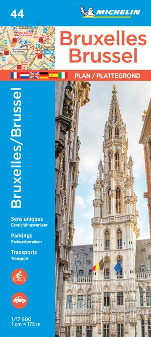 Michelin Brussels Map 44