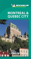 Montreal & Quebec City Michelin Green Guide
