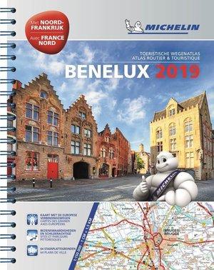 Benelux en Noord Frankrijk Wegenatlas Michelin 2019