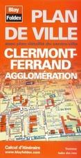 Blay Foldex - Clermont-ferrand Stadsplattegrond - 1:11.000