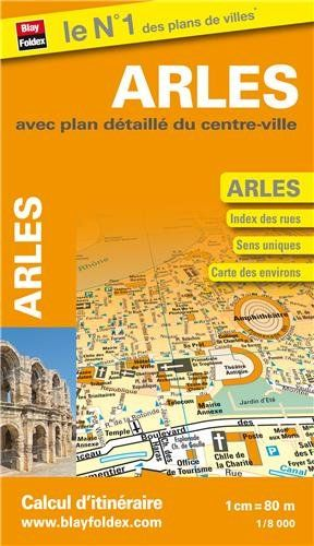 Blay Foldex - Arles Stadsplattegrond - 1:8.000