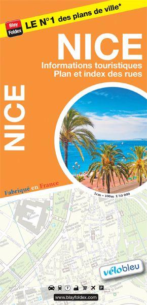 Blay Foldex - Nice Stadsplattegrond - 1: 10.000