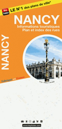 Blay Foldex - Nancy Stadsplattegrond - 1:10.000