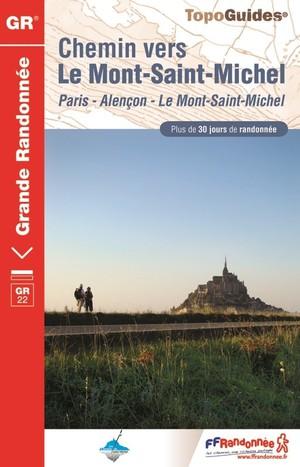 Chemin Vers Le Mont-st-michel Gr22 + De 30 Jours De Randonnee