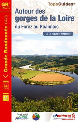 Autour des gorges de la Loire GRP du Forez au Roannais 1à7j.