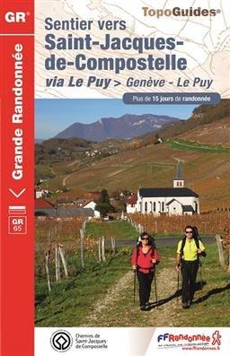 Sentier St-Jacques - Genève-Le-Puy GR65
