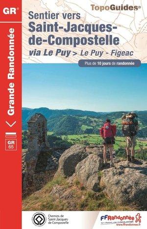 Sentier Saint-Jacques-de-Compostelle - Le Puy-Figeac GR65
