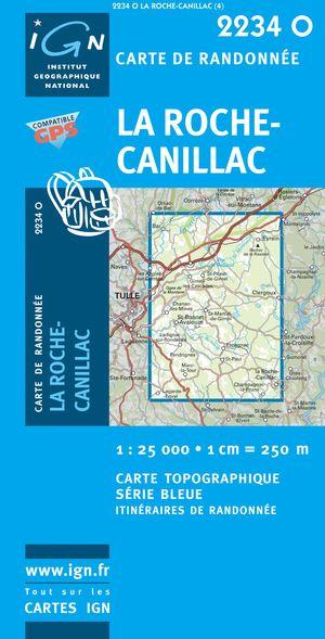 La Roche-canillac Gps