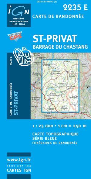 St-privat Barrage Du Chastang Gps