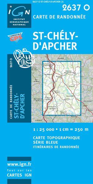 St-chely-d'apcher Gps