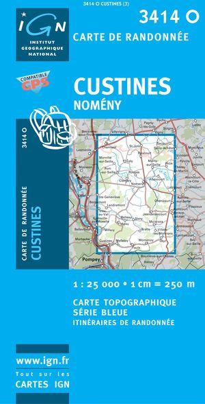 Custines/nomeny Gps