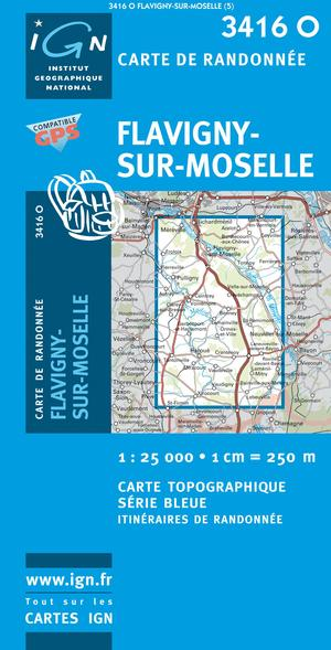 Flavigny-sur-moselle Gps