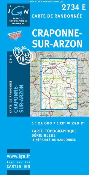 Craponne-sur-arzon Gps