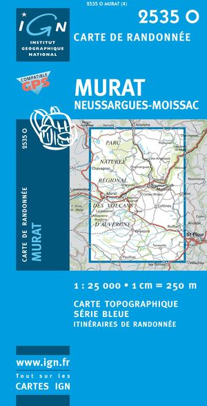 Murat/neussargues-moissac Gps