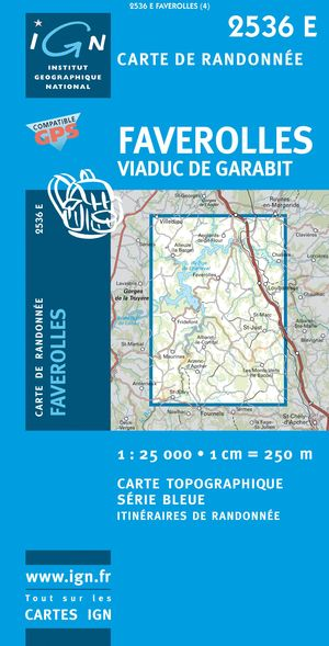 Faverolles/viaduc De Garabit Gps
