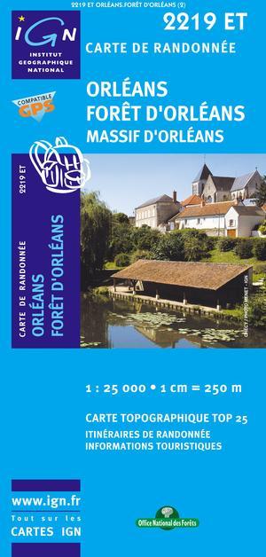 Orleans/foret D'orleans/massif D'orleans Gps