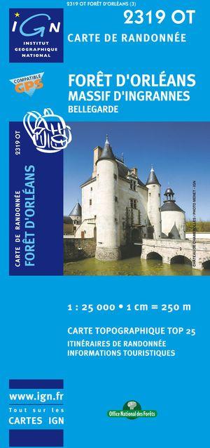Foret D'orleans/massif D'ingrannes/bellegarde Gps