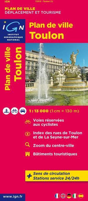 Toulon 1:12,5 Ign Plan De Ville