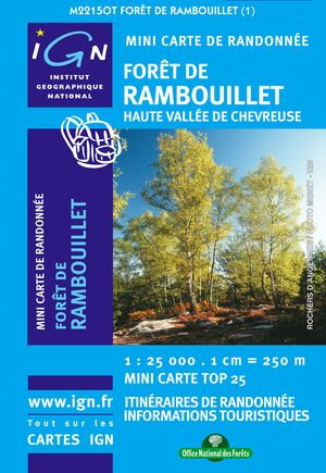 Foret De Rambouillet Mini Map