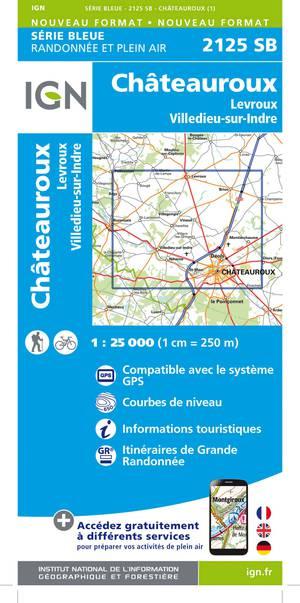 Châteauroux / Levroux / Villedieu-sur-Indre
