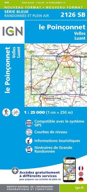 Le Poinçonnet / Velles / Luant