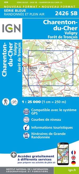 Charenton-du-Cher / Valigny / Forêt de Tronçais