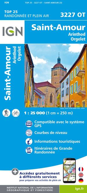 St-Amour / Arinthod / Orgelet