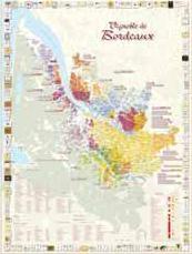 Carte Du Vignoble De Bordeaux Plano