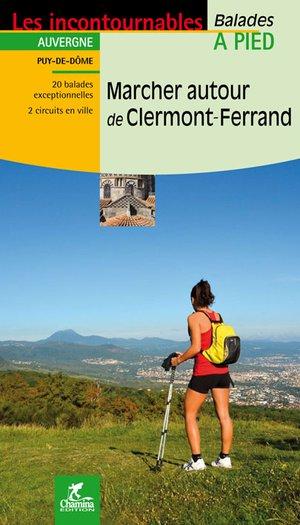Clermont-Ferrand marcher autour à pied