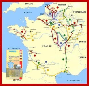 Bourgogne Est Fluviacarte 19